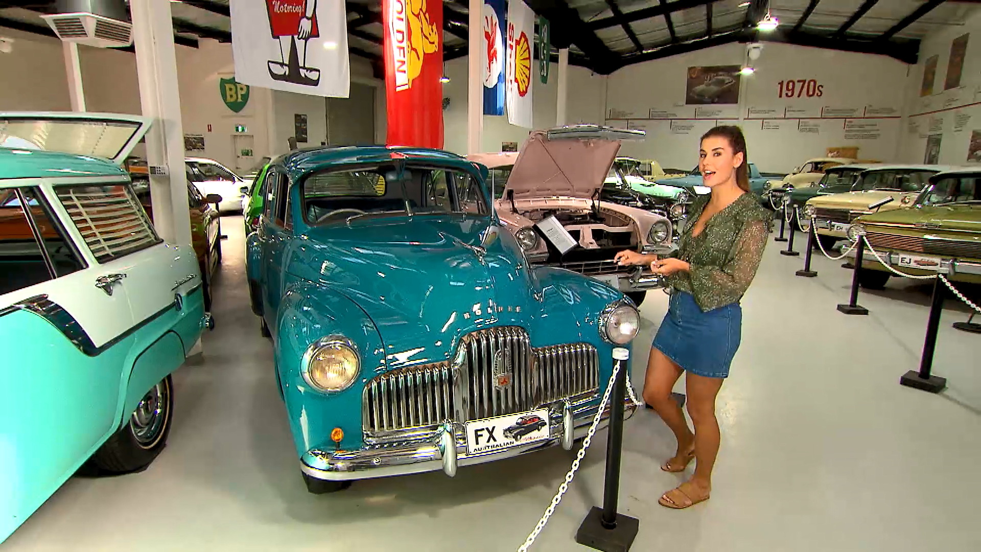 Lauren visits the Holden Museum