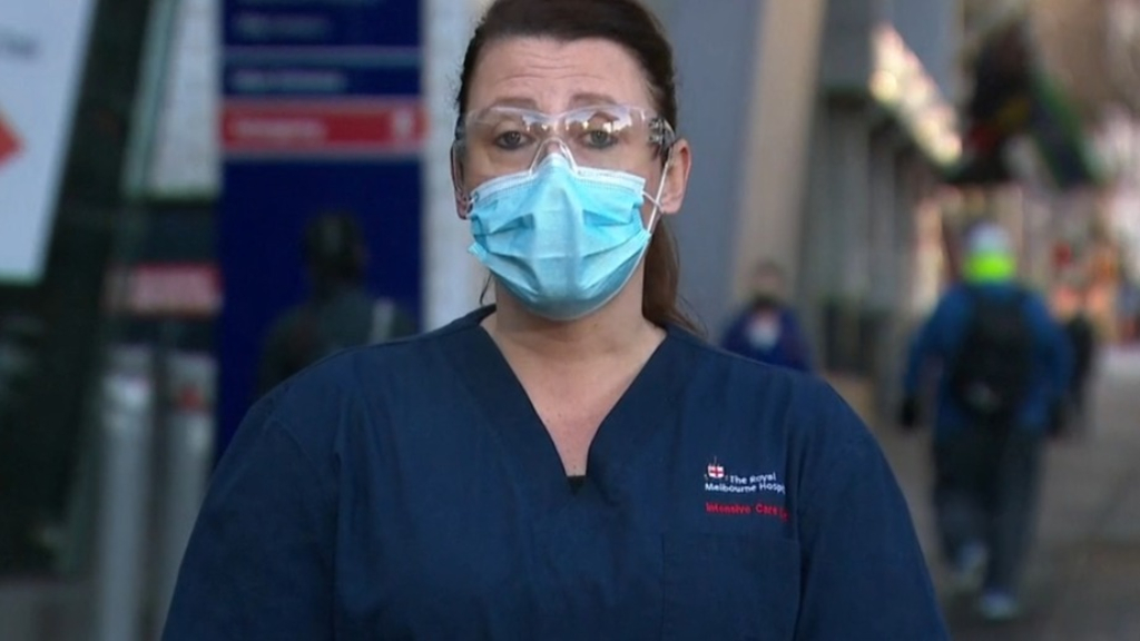 'Humble' nurse on coronavirus frontline condemns the behaviour of anti-maskers