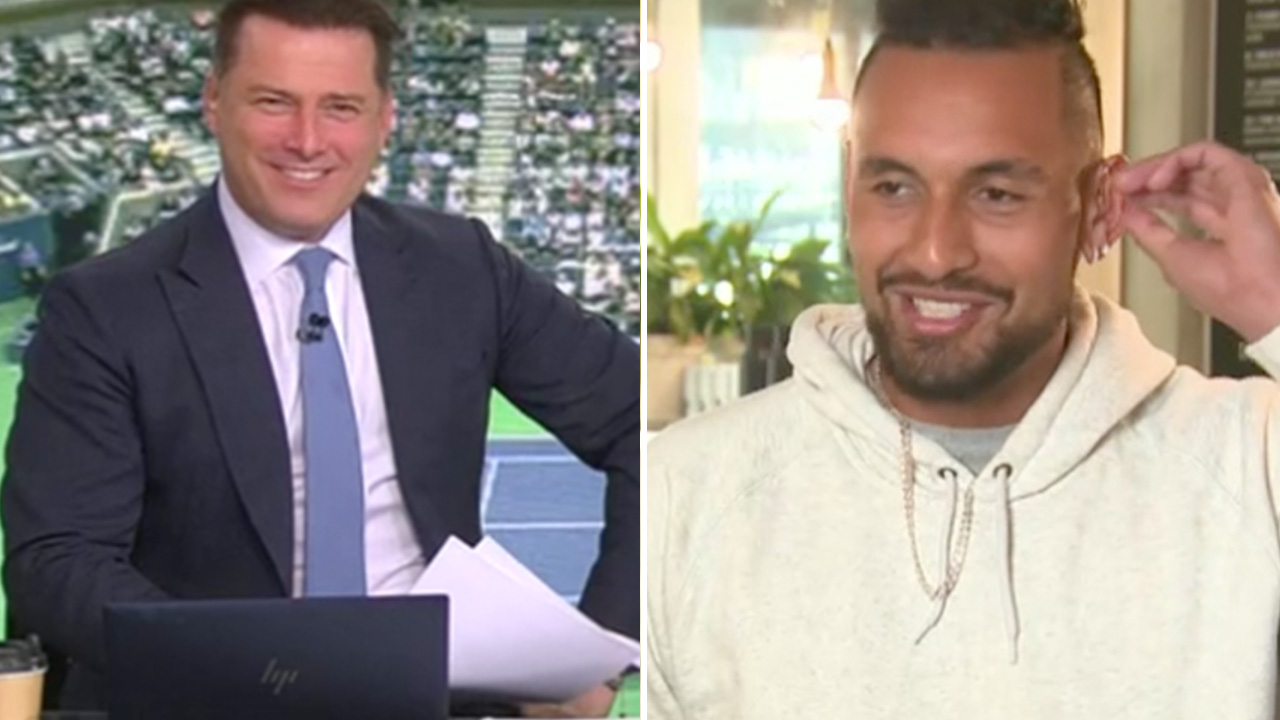 Karl Stefanovic throws Nick Kyrgios 'under the bus'