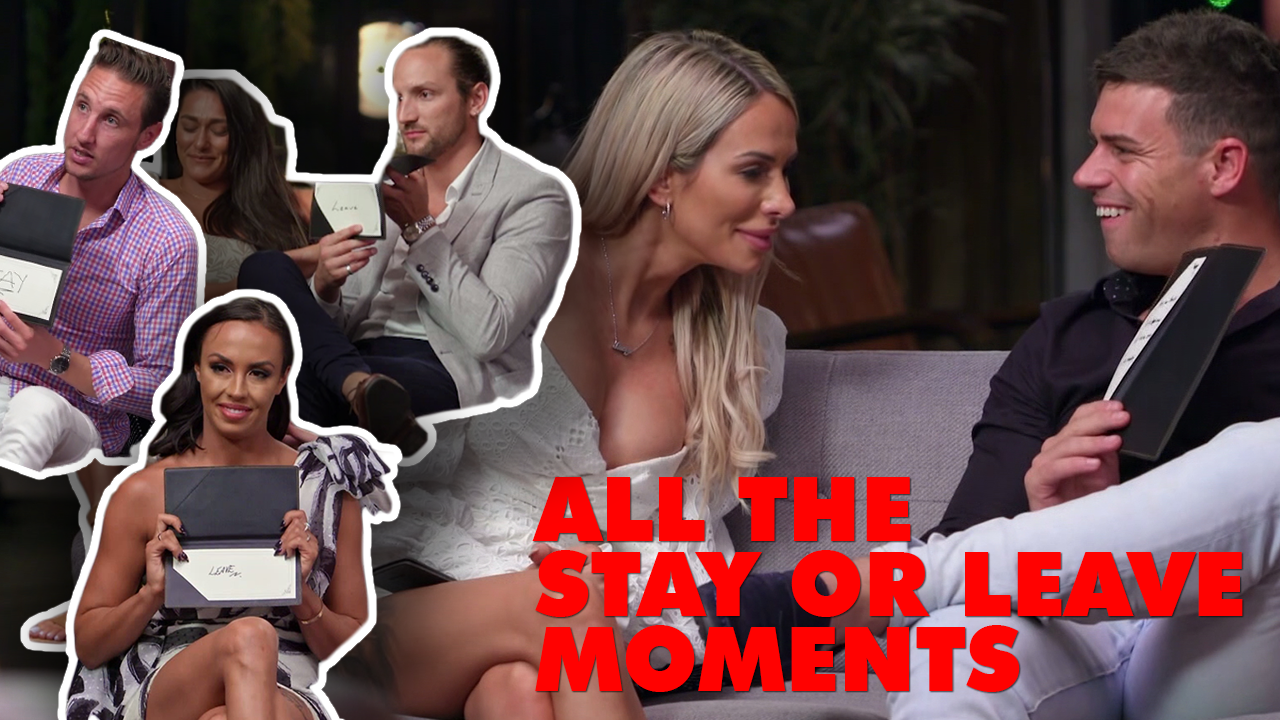 Every single stay or leave moment from Married at First Sight 2020