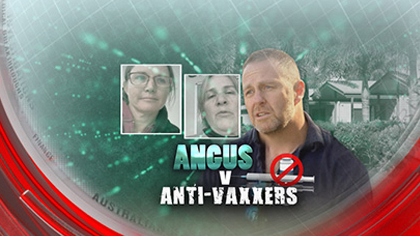 Angus vs anti-vaxxers