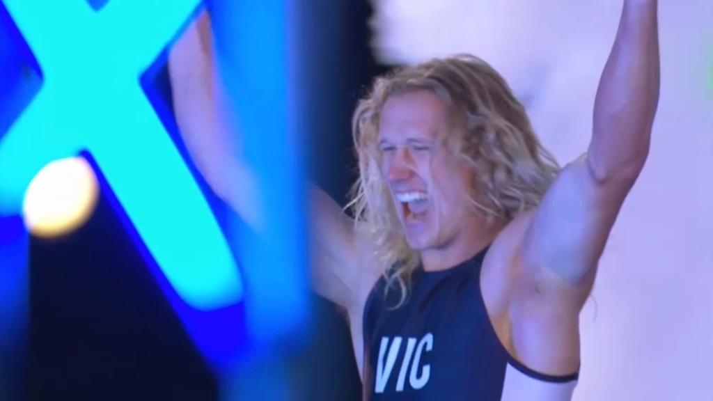 Team VIC take on Australian Ninja Warrior's hardest obstacles