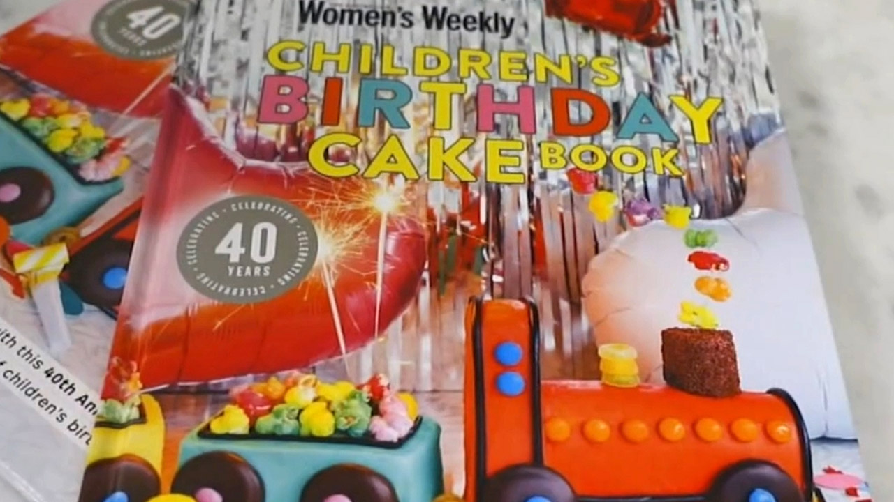 Iconic birthday cake book turns 40