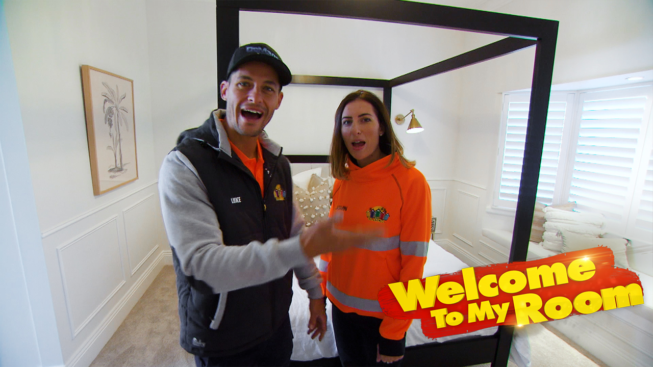 Sarah and George reveal one strange oversight in Daniel and Jade's beautiful Master Bedroom