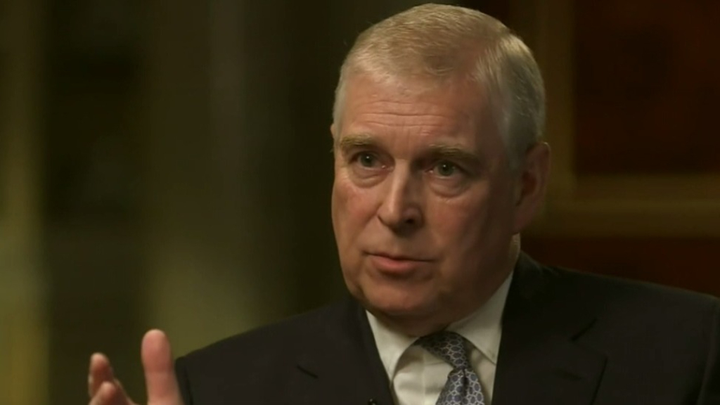 Prince Andrew barred from royal celebration