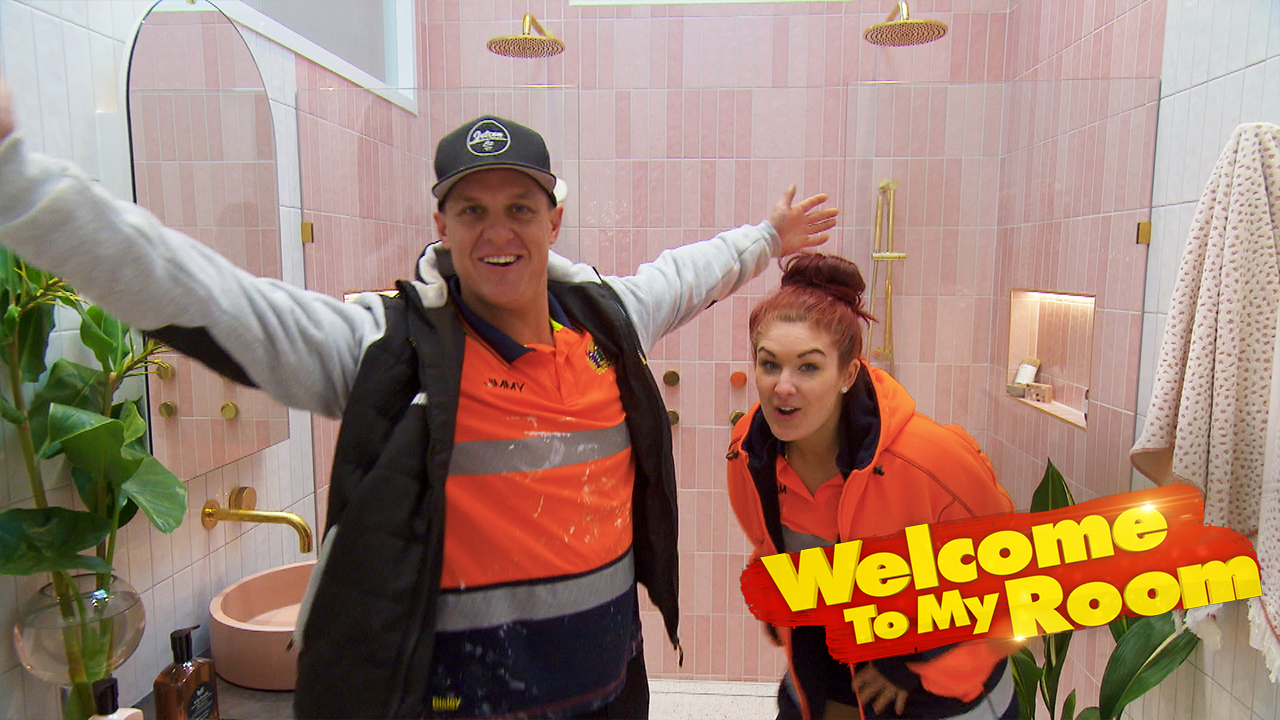 Welcome To My Room: Jimmy and Tam defend the size of their master ensuite