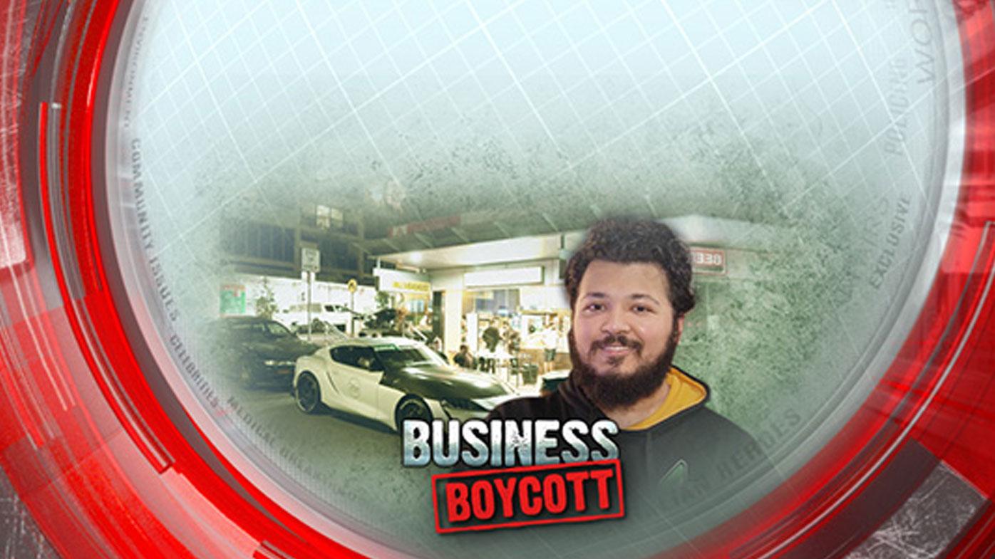 Business boycott