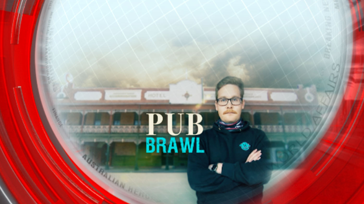 Historic pub brawl