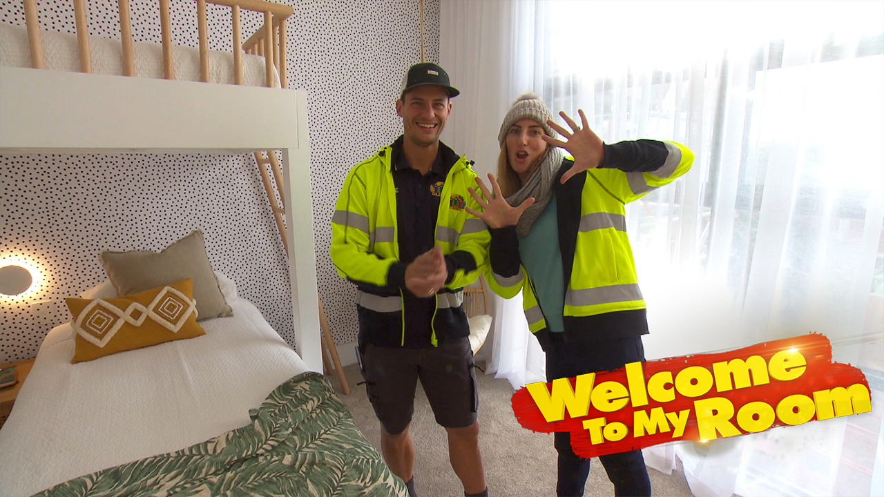 Welcome To My Room: Luke and Jasmin's bedroom is full of bespoke features
