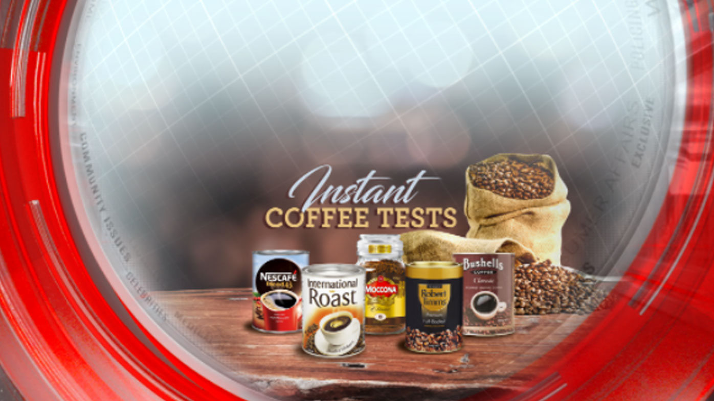 Instant coffee tests
