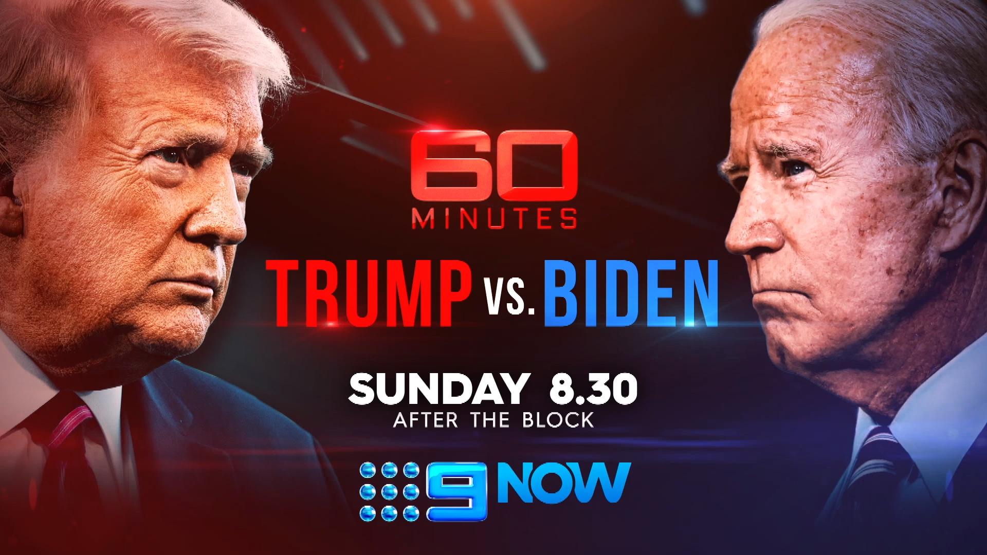 Sunday on 60 Minutes: Trump vs. Biden