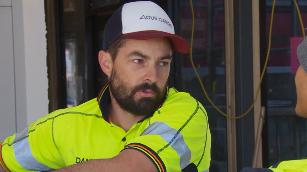 Daniel's tradie trouble gets worse as his plasterers quit