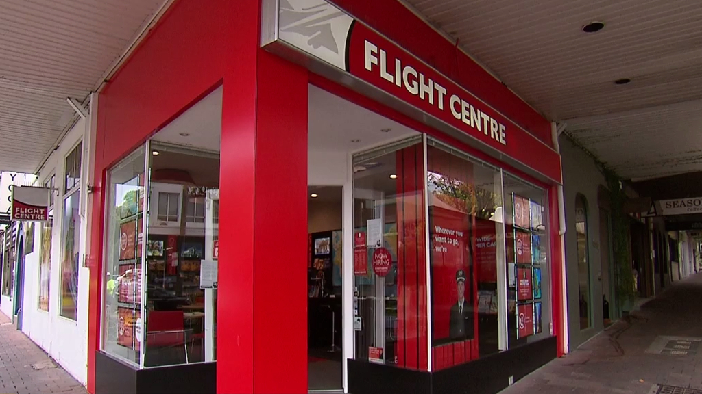 Future of Flight Centre in the air as  90 more stores shut