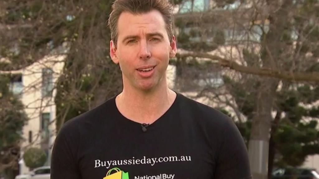 Former Olympian Grant Hackett backs Aussie businesses