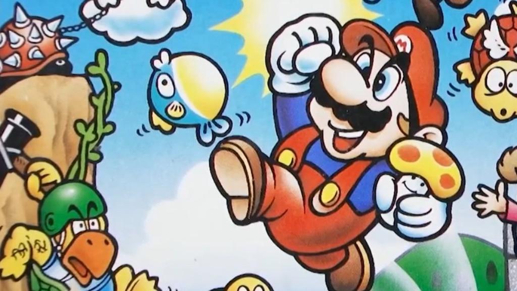 Mario is back!
