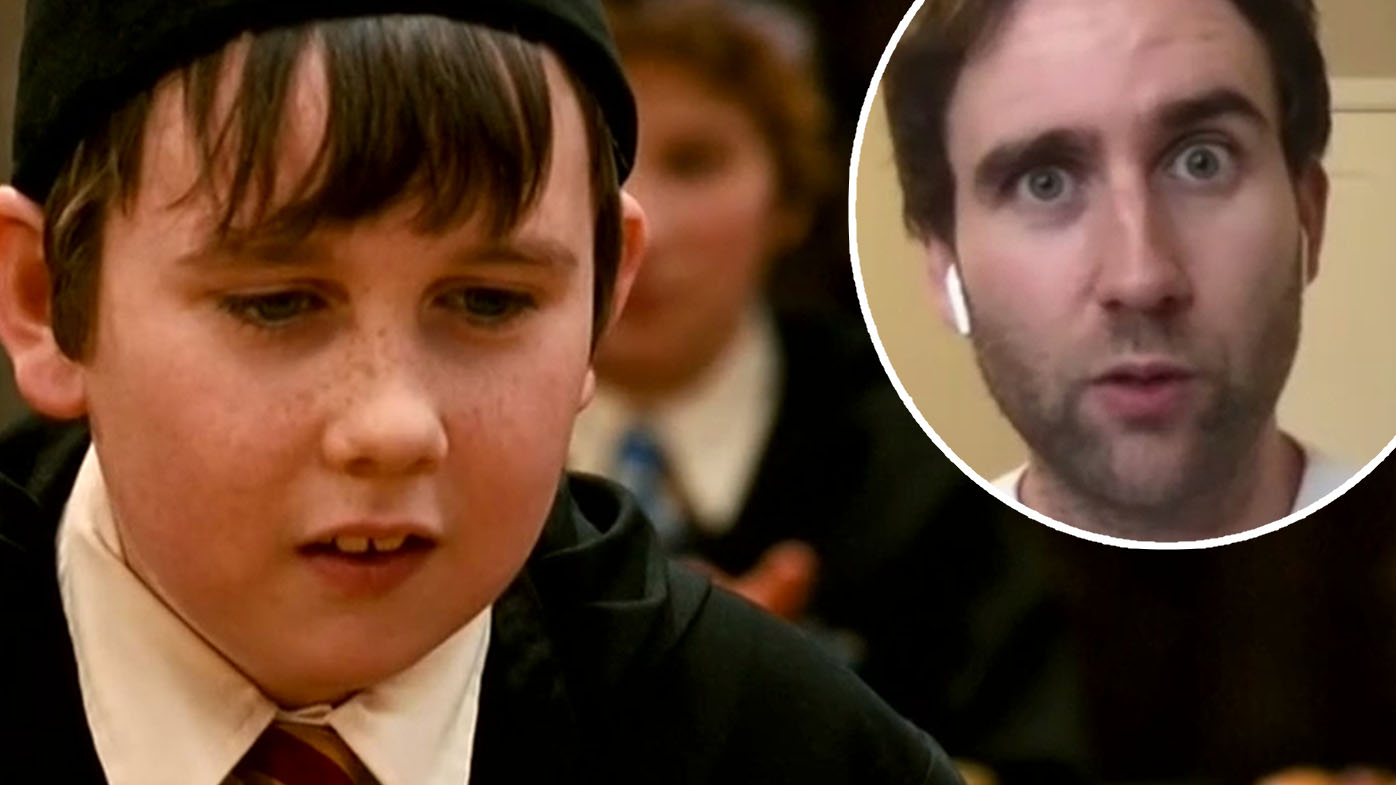 'It was a compliment': Harry Potter star spills on wearing fat suit