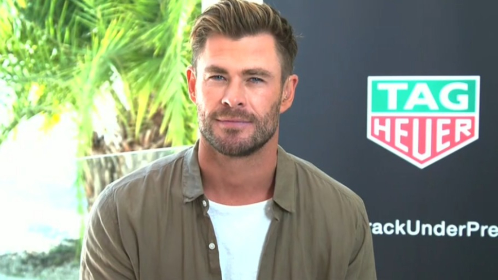 Chris Hemsworth jokes he's heading to Today