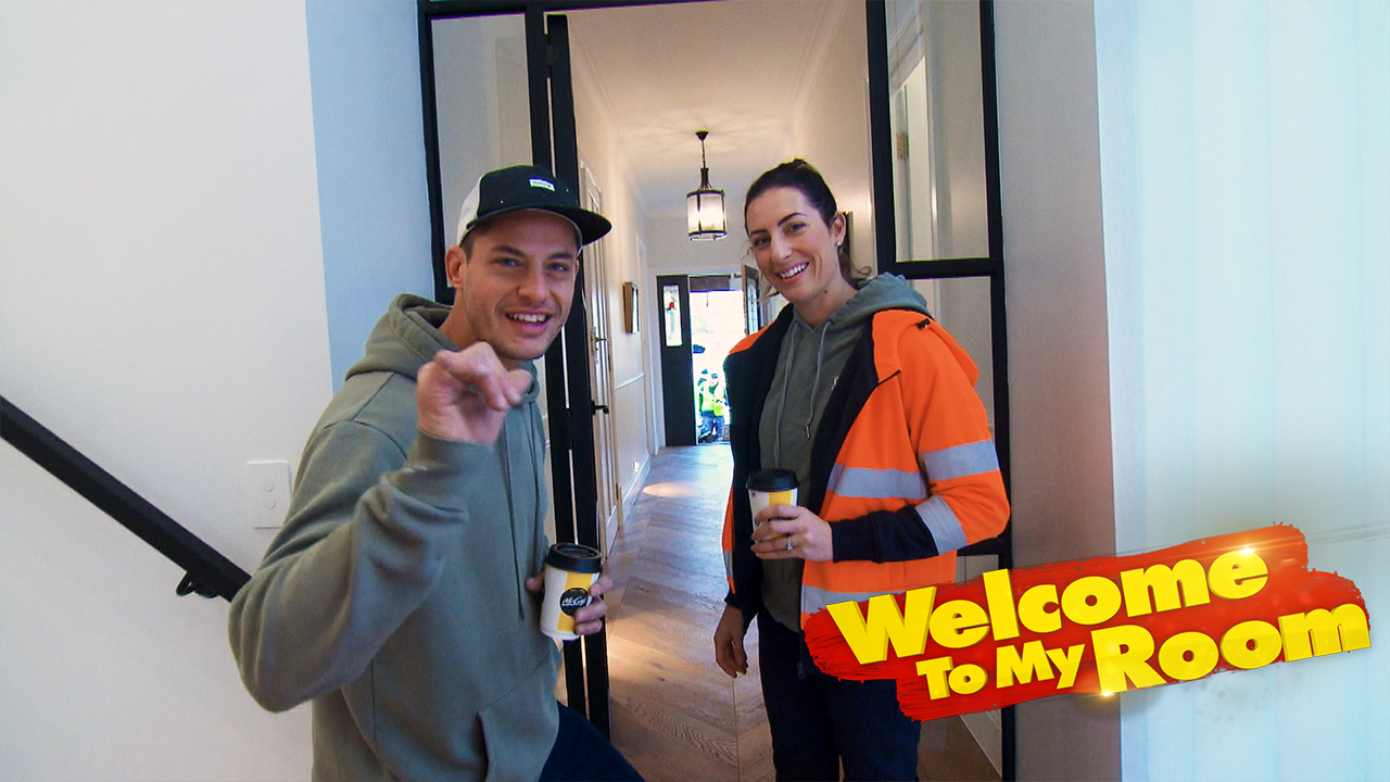 Welcome To My Room: Luke and Jasmin point out the 'woman's dream' within their home