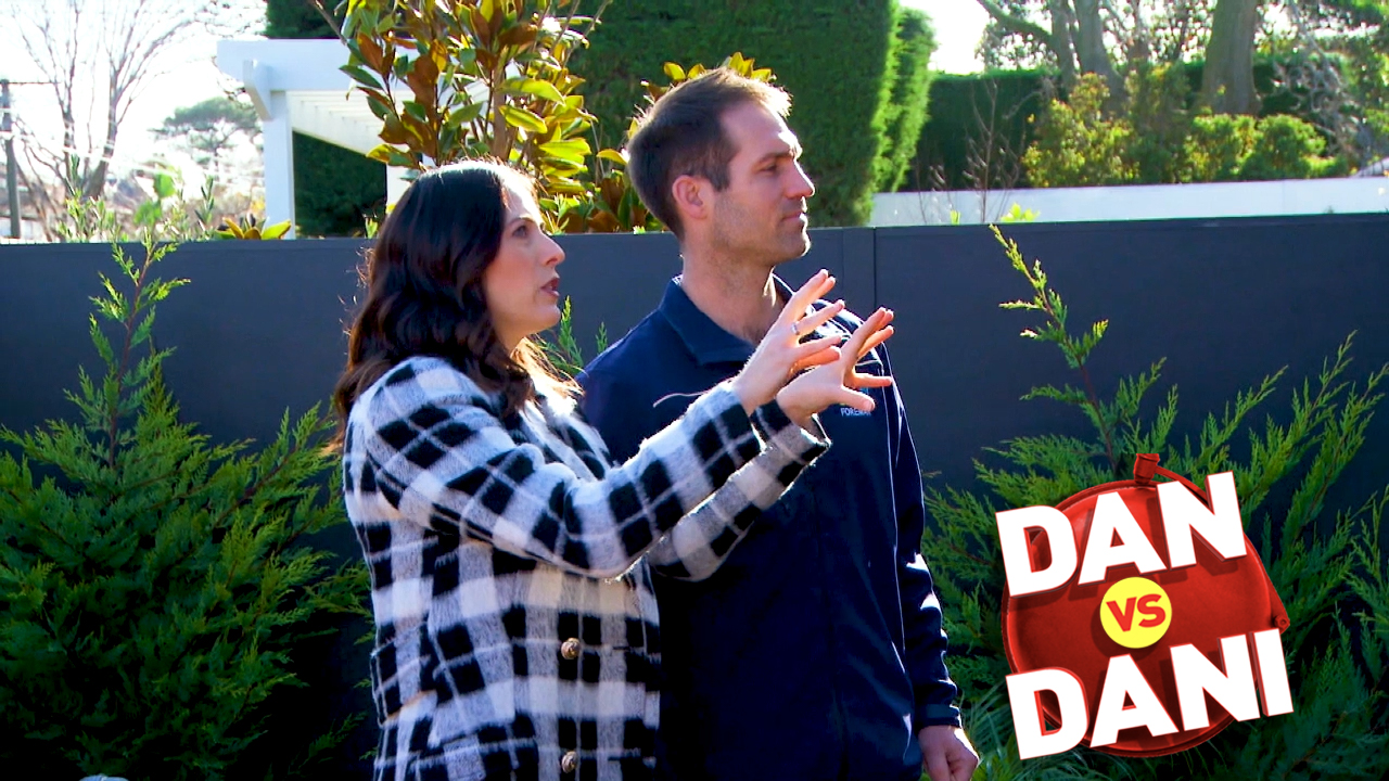 Dan vs Dani: One garden leaves Dani feeling 'confused'