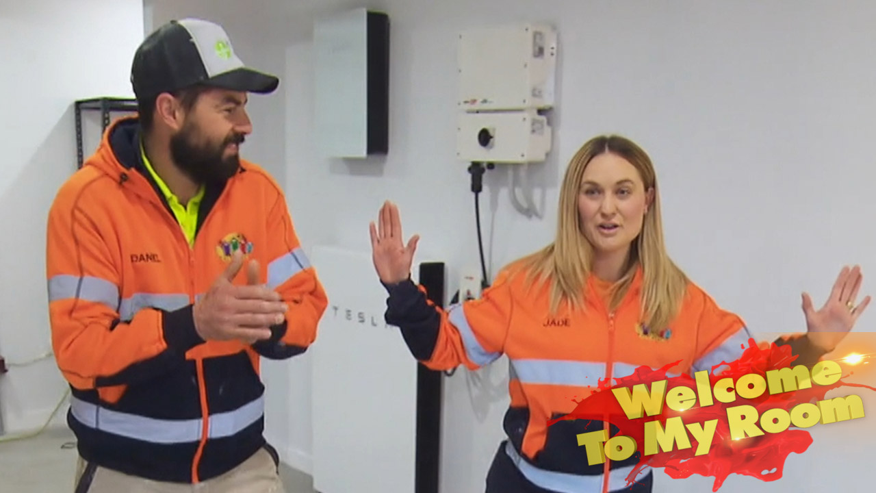 Welcome To My Room: Team reveals the 'smart' feature in Daniel and Jade's Studio and Garage