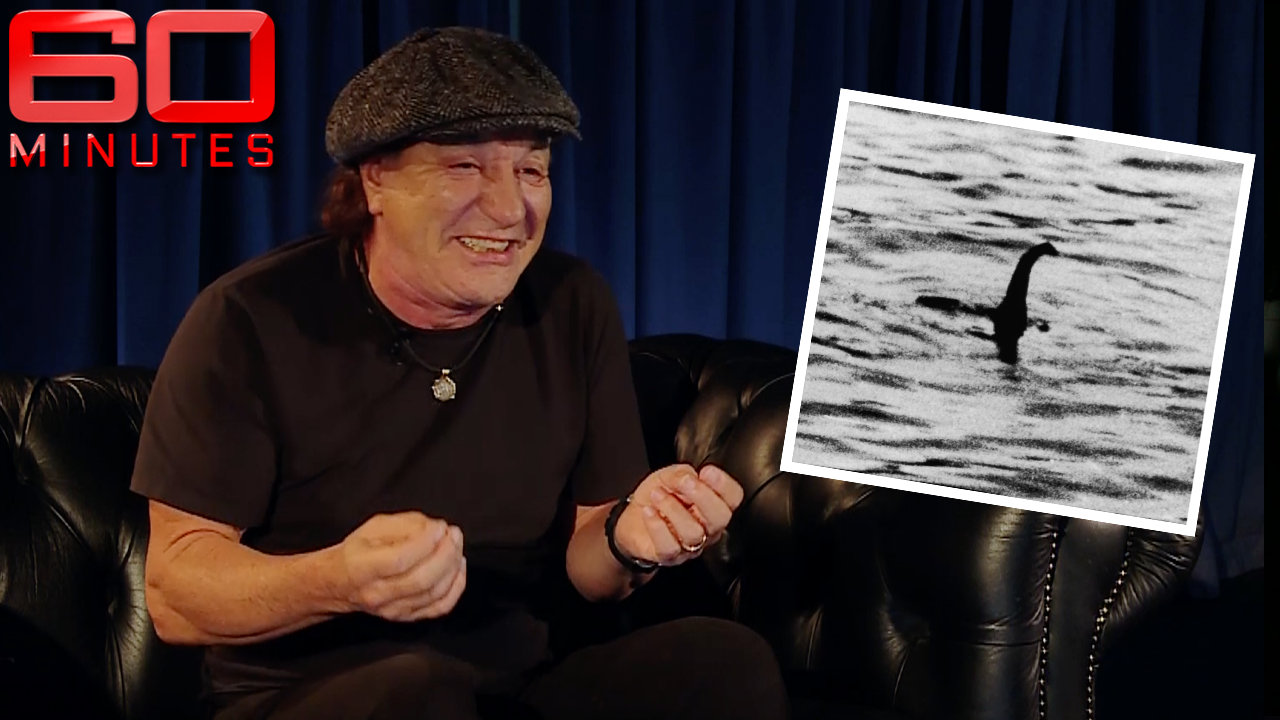 """He wanted to see if we could attract it out!"" Brian Johnson tells story of the Loch Ness monster"