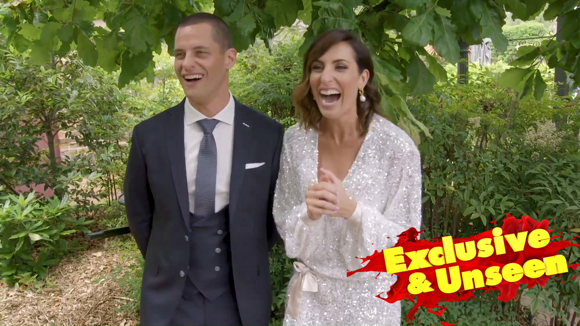 Exclusive: Luke and Jasmin react to their auction day result