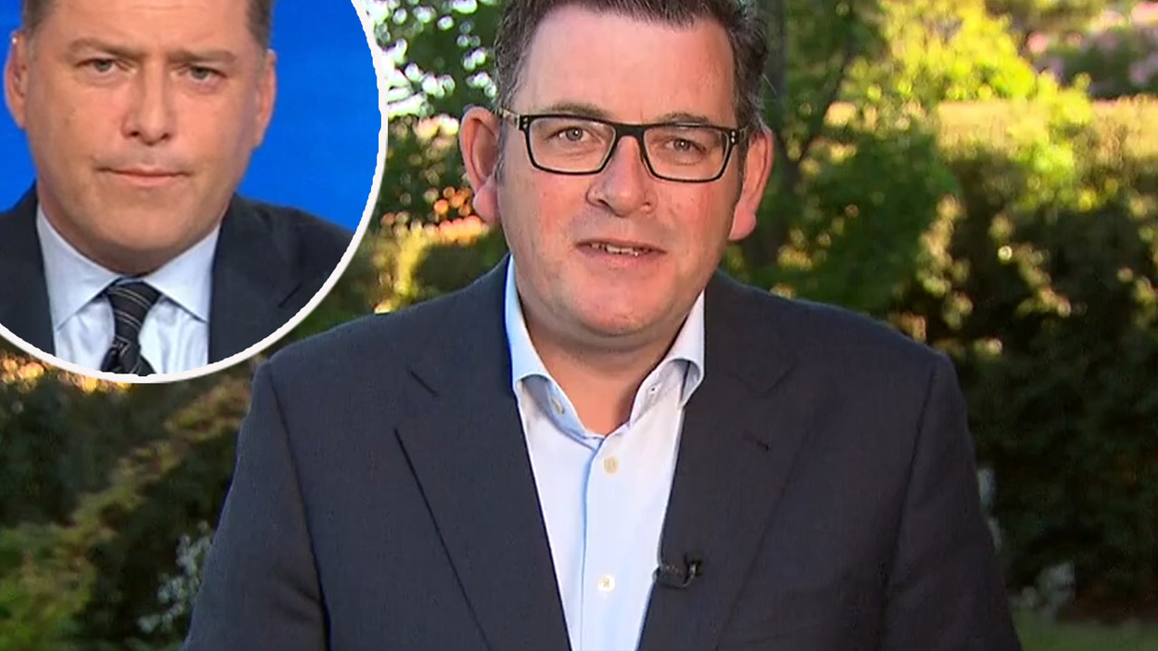 Victorian Premier steels himself before answering candid question