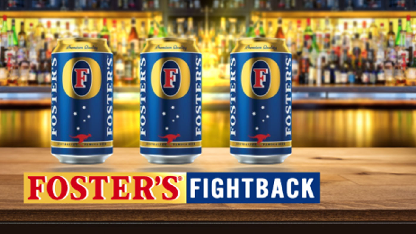 Foster's beer is back