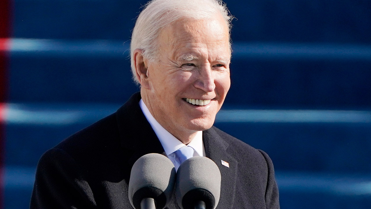Joe Biden vows to unite divided America as he's sworn in