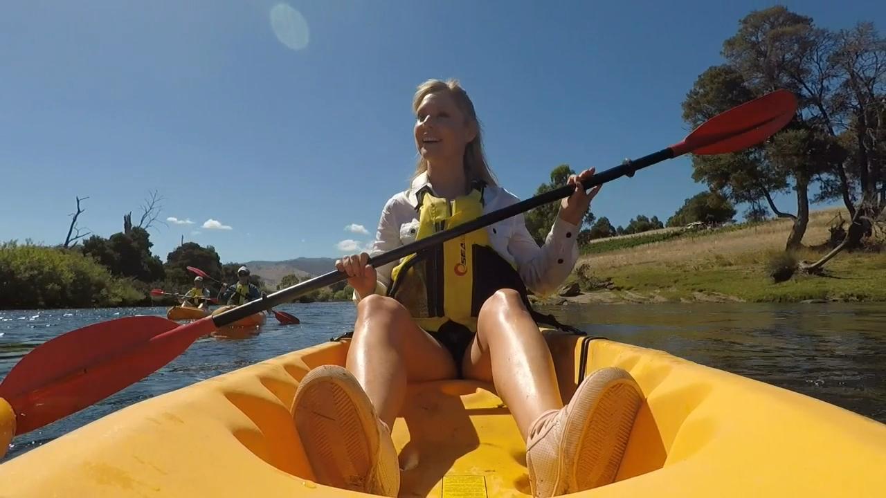 Truffle Lodge and Derwent River Kayak