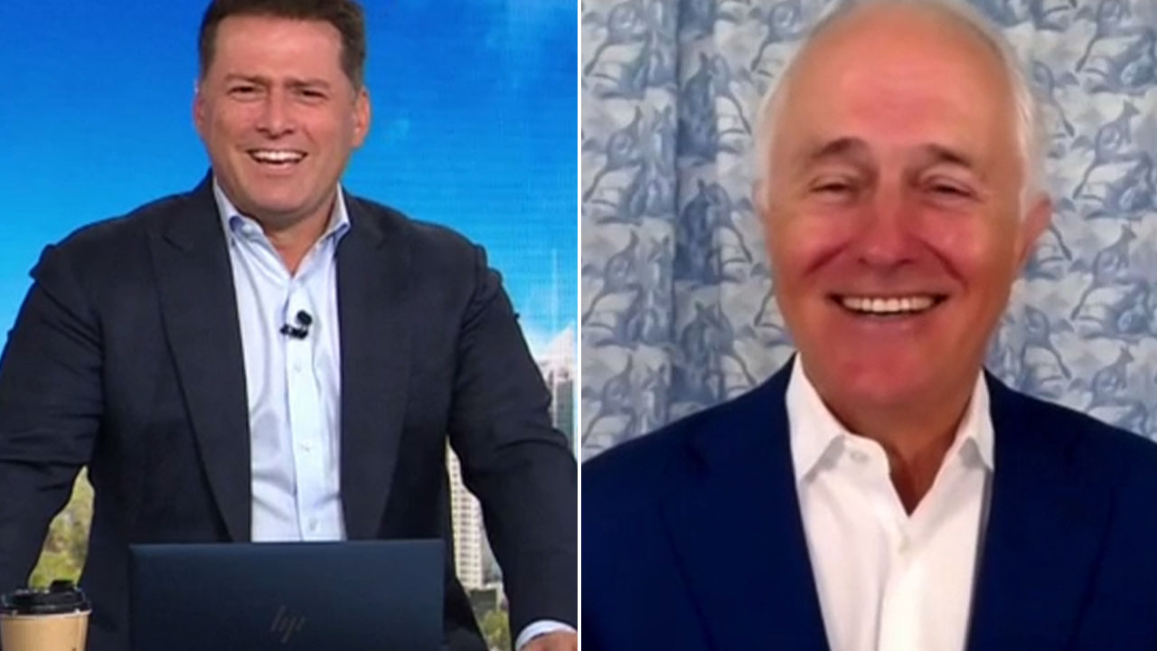 Former Prime Minister left speechless after cheeky statement from Karl Stefanovic