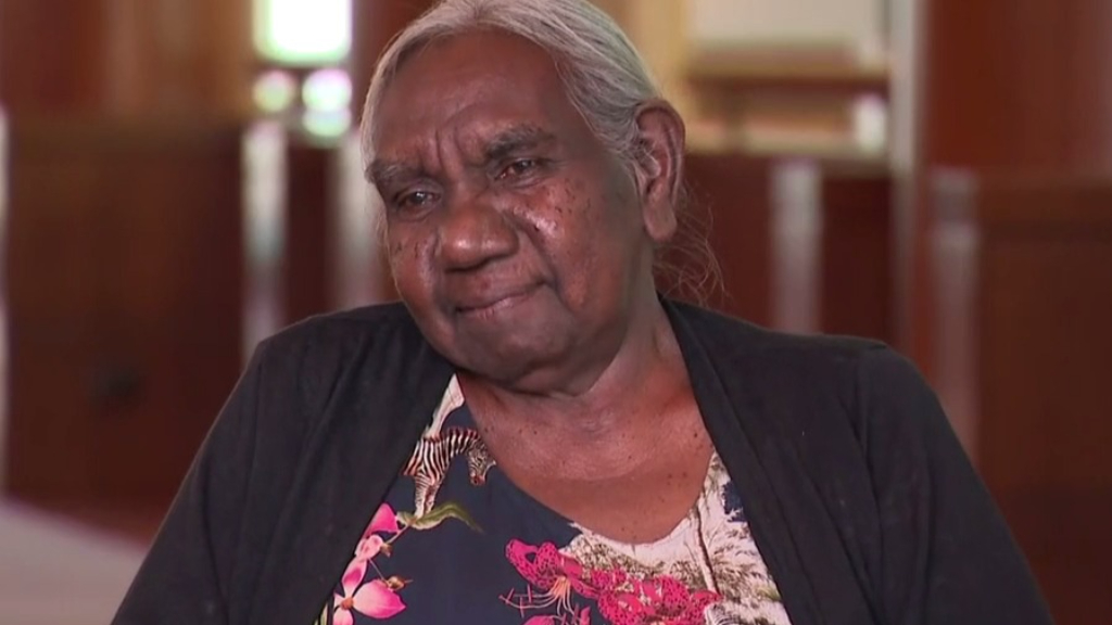 Senior Australian of the Year insists she was just doing 'what was expected'
