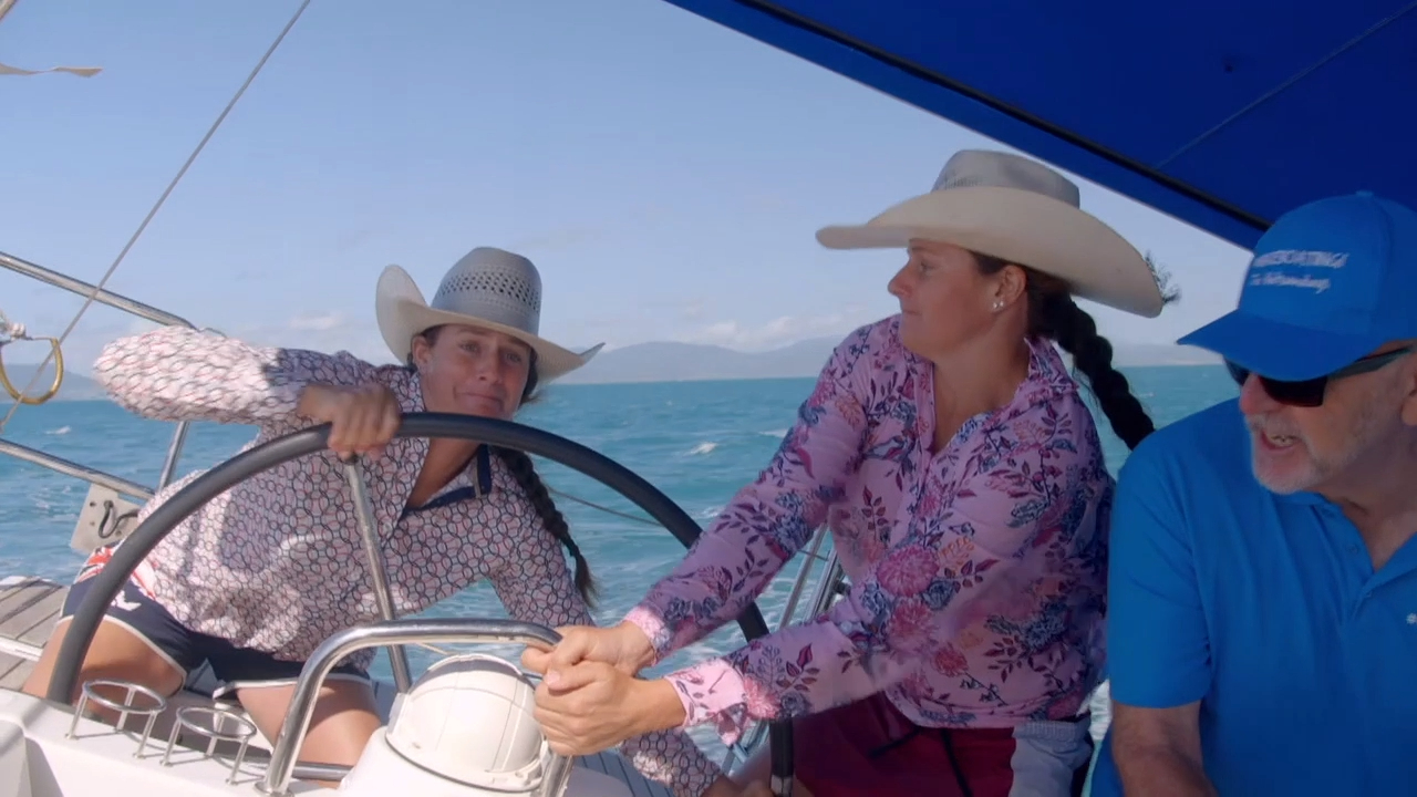 The Guides try bareboating in the Whitsundays