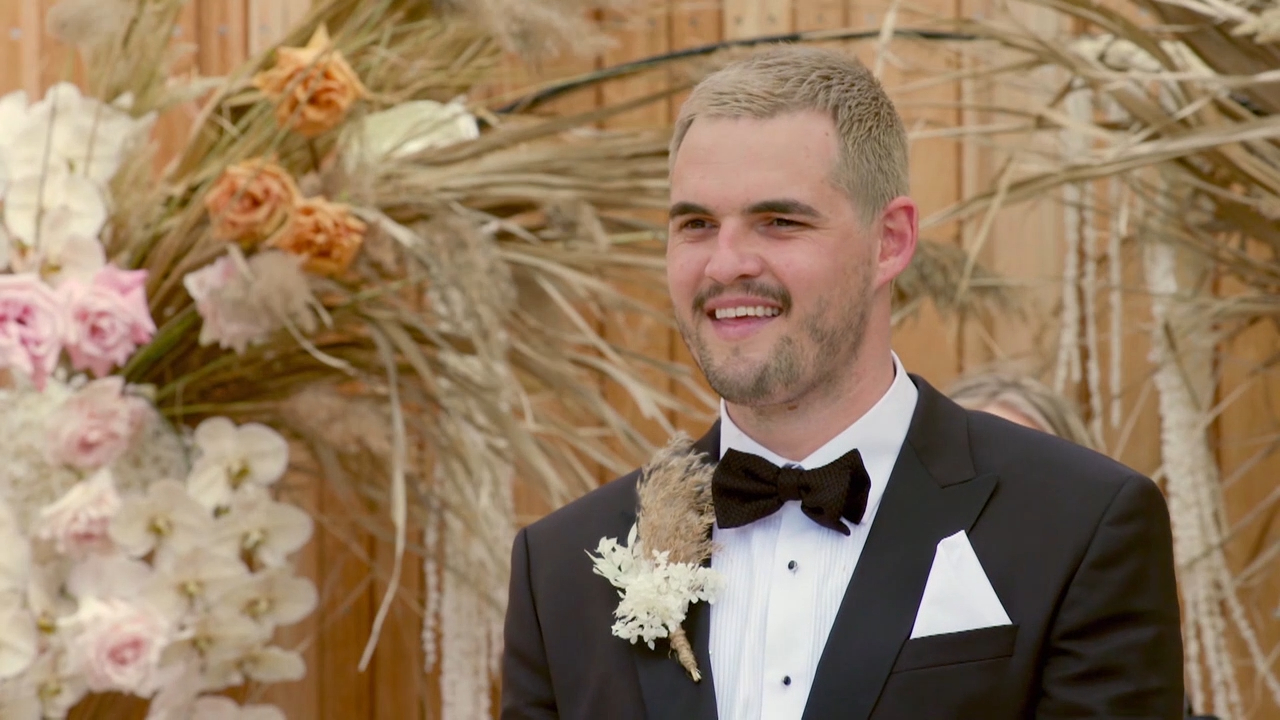 Coco and Sam's very loud wedding leaves the groom overwhelmed