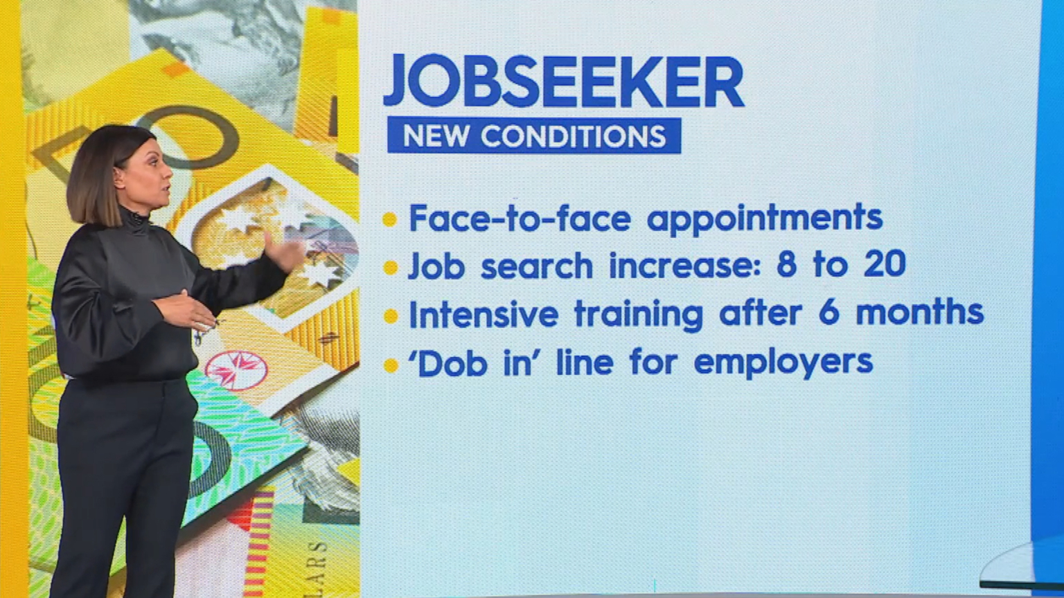 JobSeeker changes explained