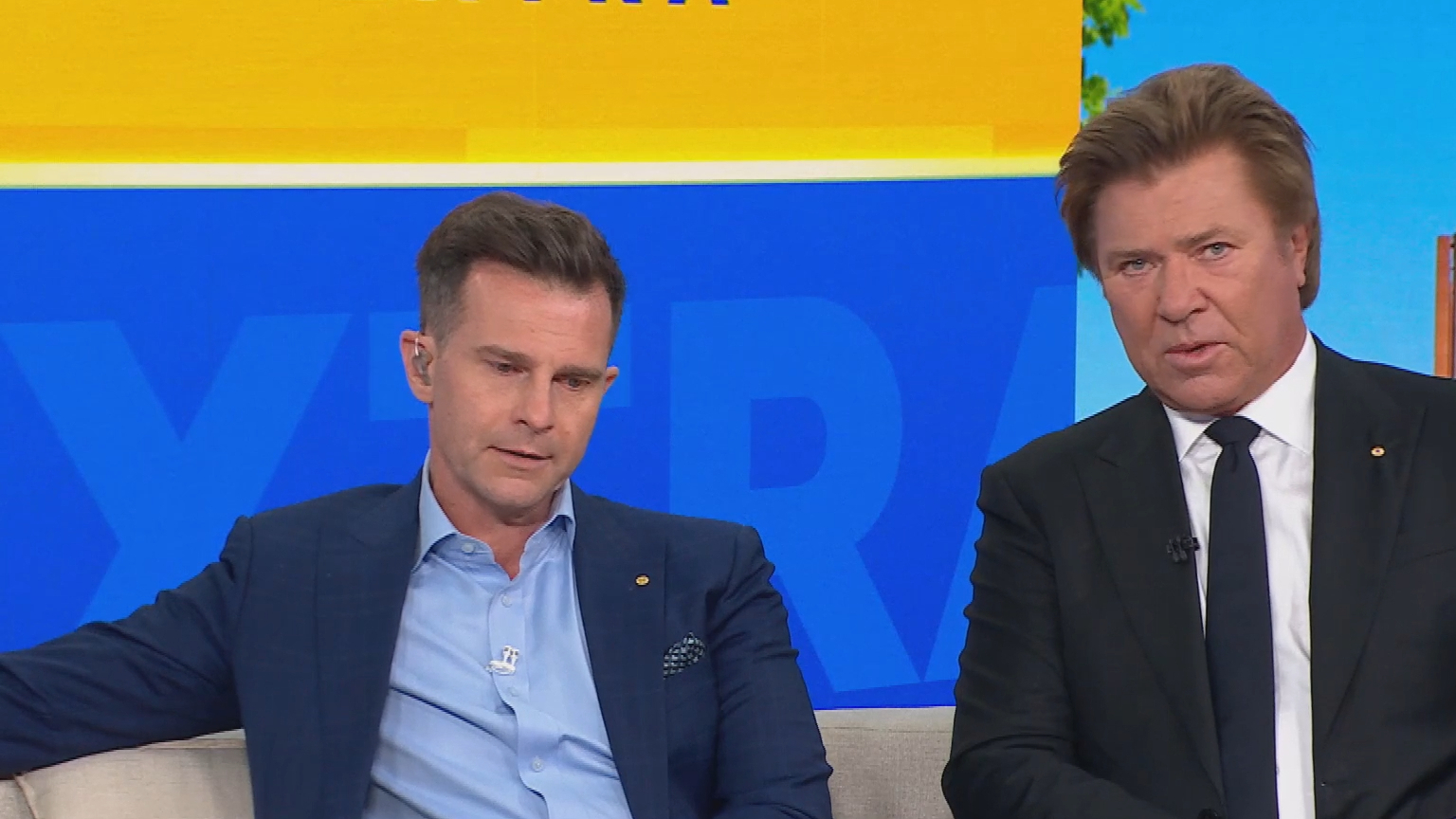 David Campbell and Richard Wilkins pay touching tribute to 'father of Australian music'