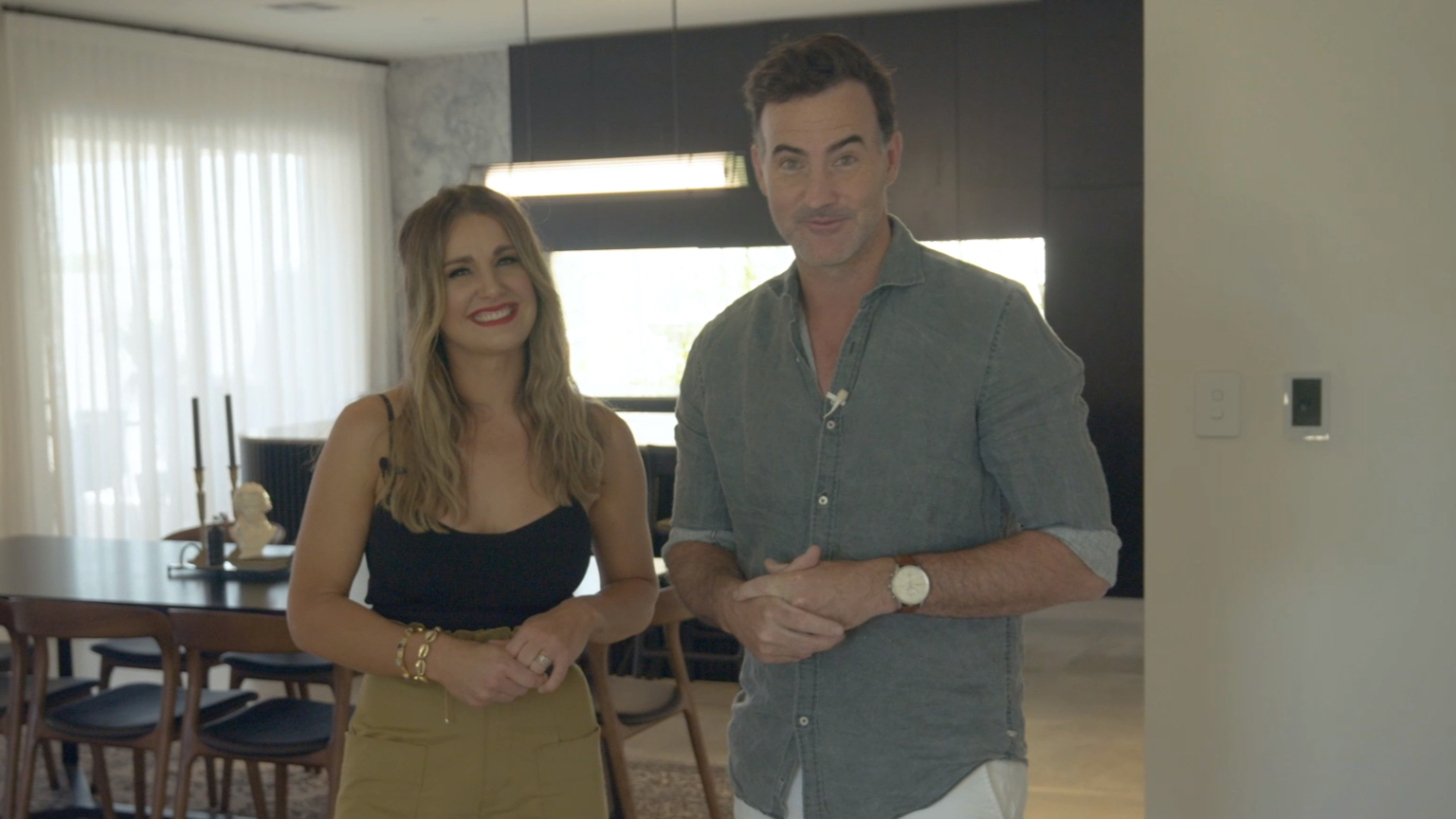 The Block's El'ise and Matt show off their kitchen renovation