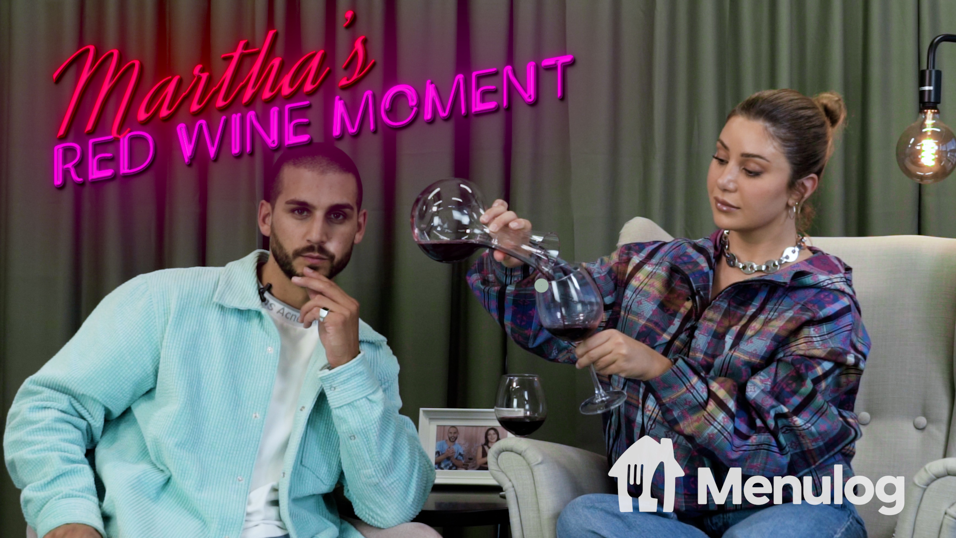 Martha's Red Wine Moment from Dinner Party #3, Season 8