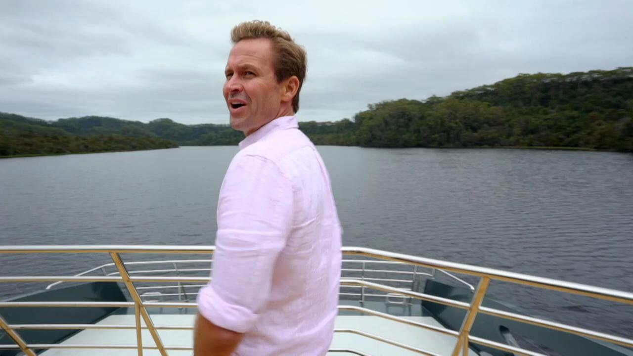 Scenic boat cruise along the famous Gordon River