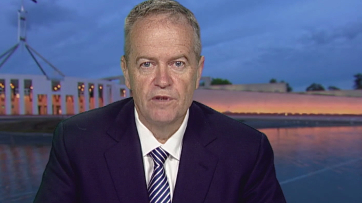 Bill Shorten blasts reports of 'reprehensible' lewd acts inside Parliament House
