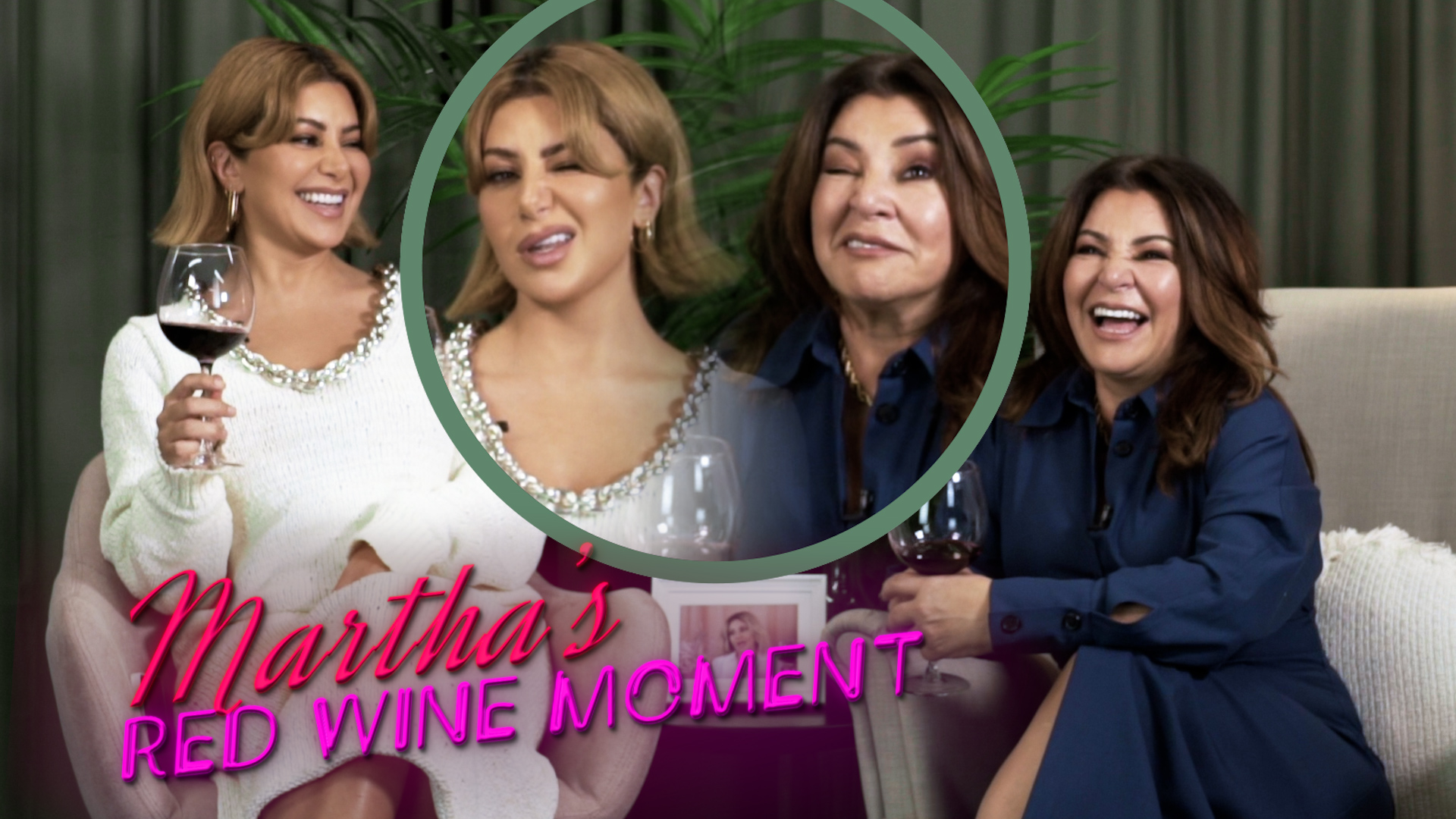 Martha's Red Wine Moment from Dinner Party #4, Season 8