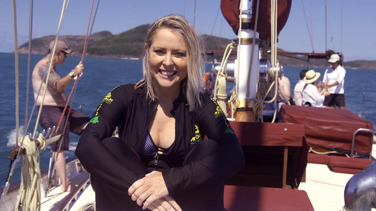 Lady Enid Sailing