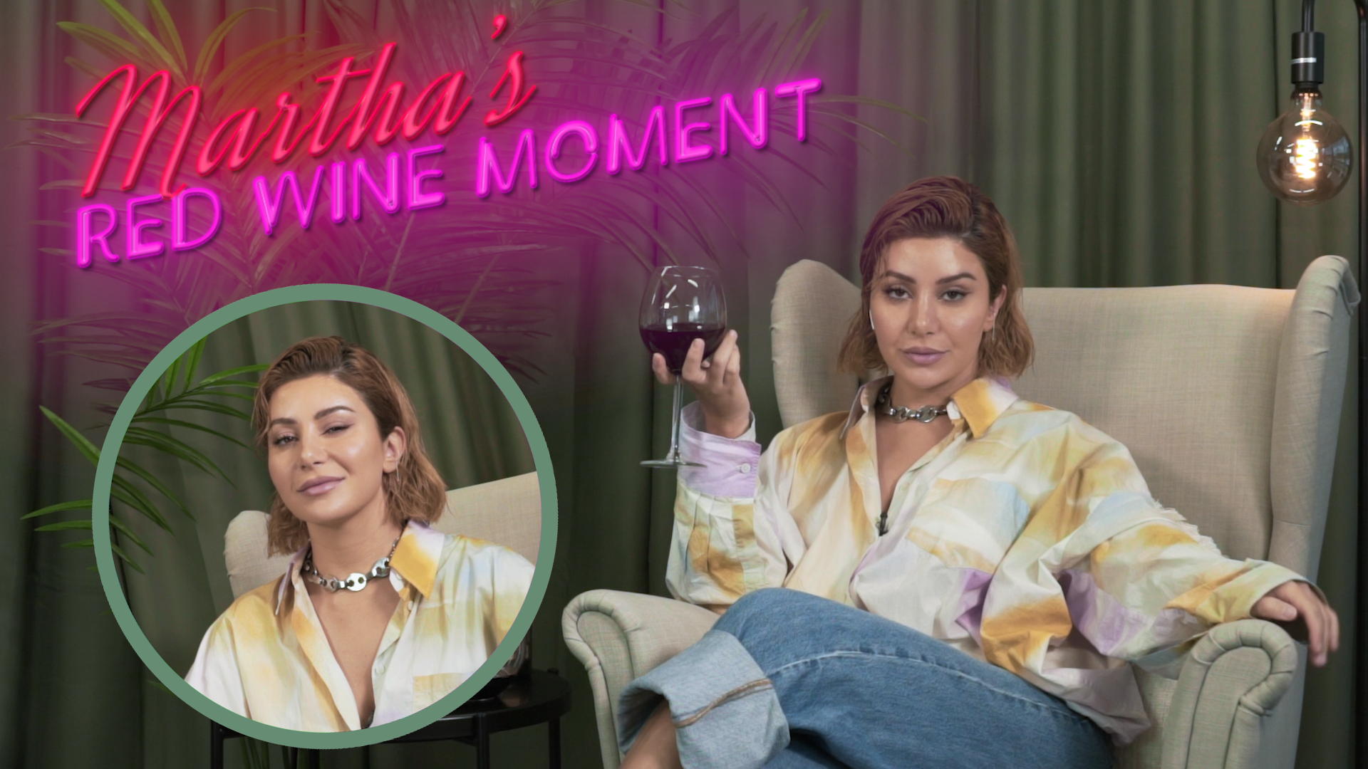 Martha's Red Wine Moment from Dinner Party #5, Season 8