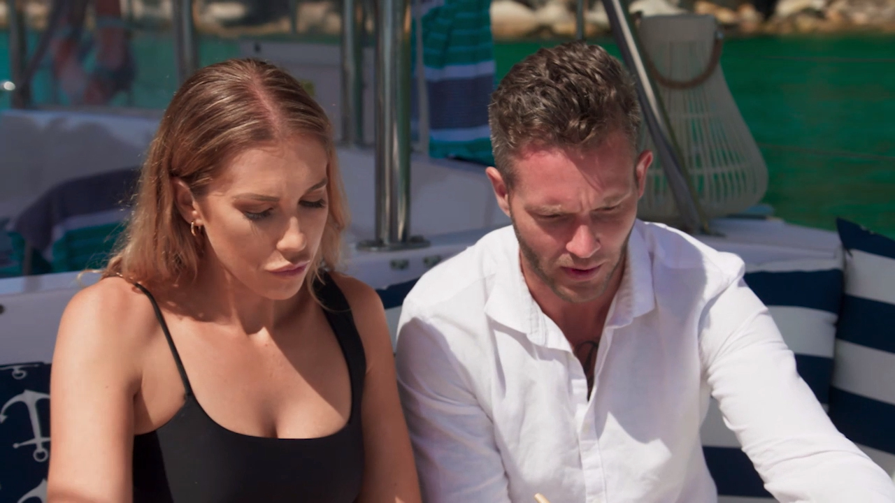 Rebecca and Jake struggle to move their relationship forward on their Final Date