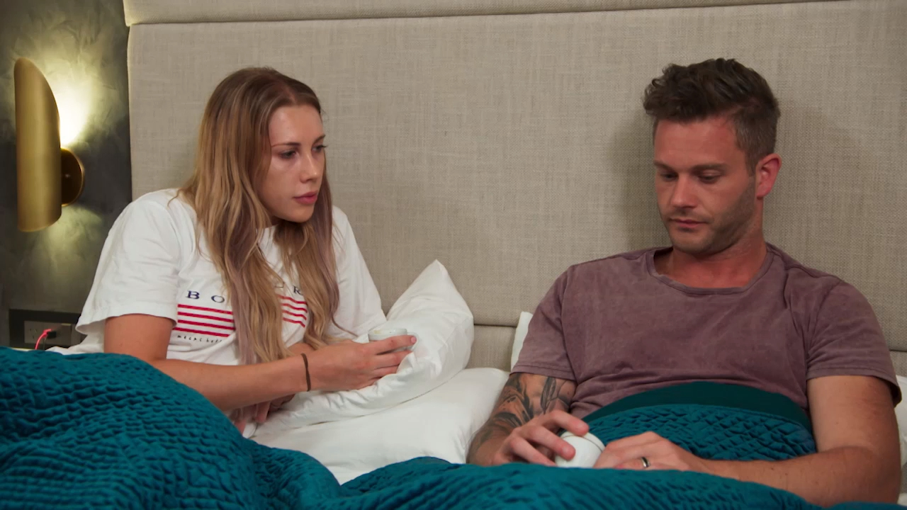 Jake is 'frustrated' in his relationship with Rebecca ahead of his Final Vows