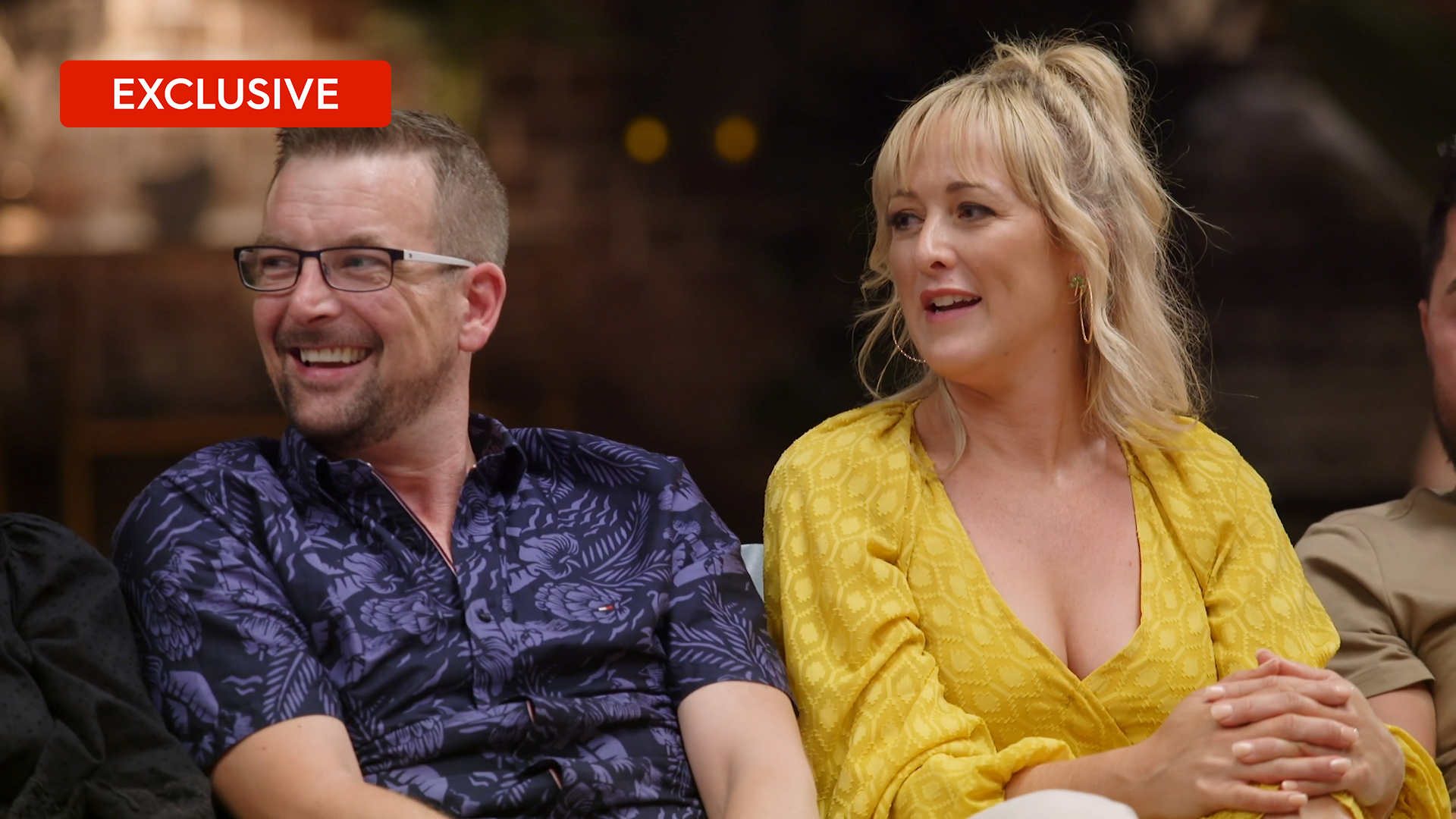 Exclusive: Beth and Russell's unseen moment at the Reunion