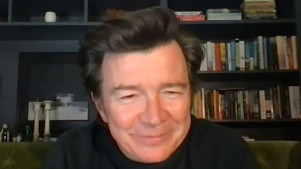 Rick Astley makes candid admission about chart-topping single
