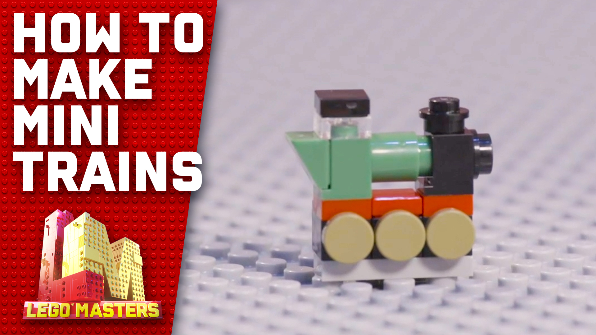 Exclusive: Ryan and Gabby offer some tips and tricks on how to make mini trains