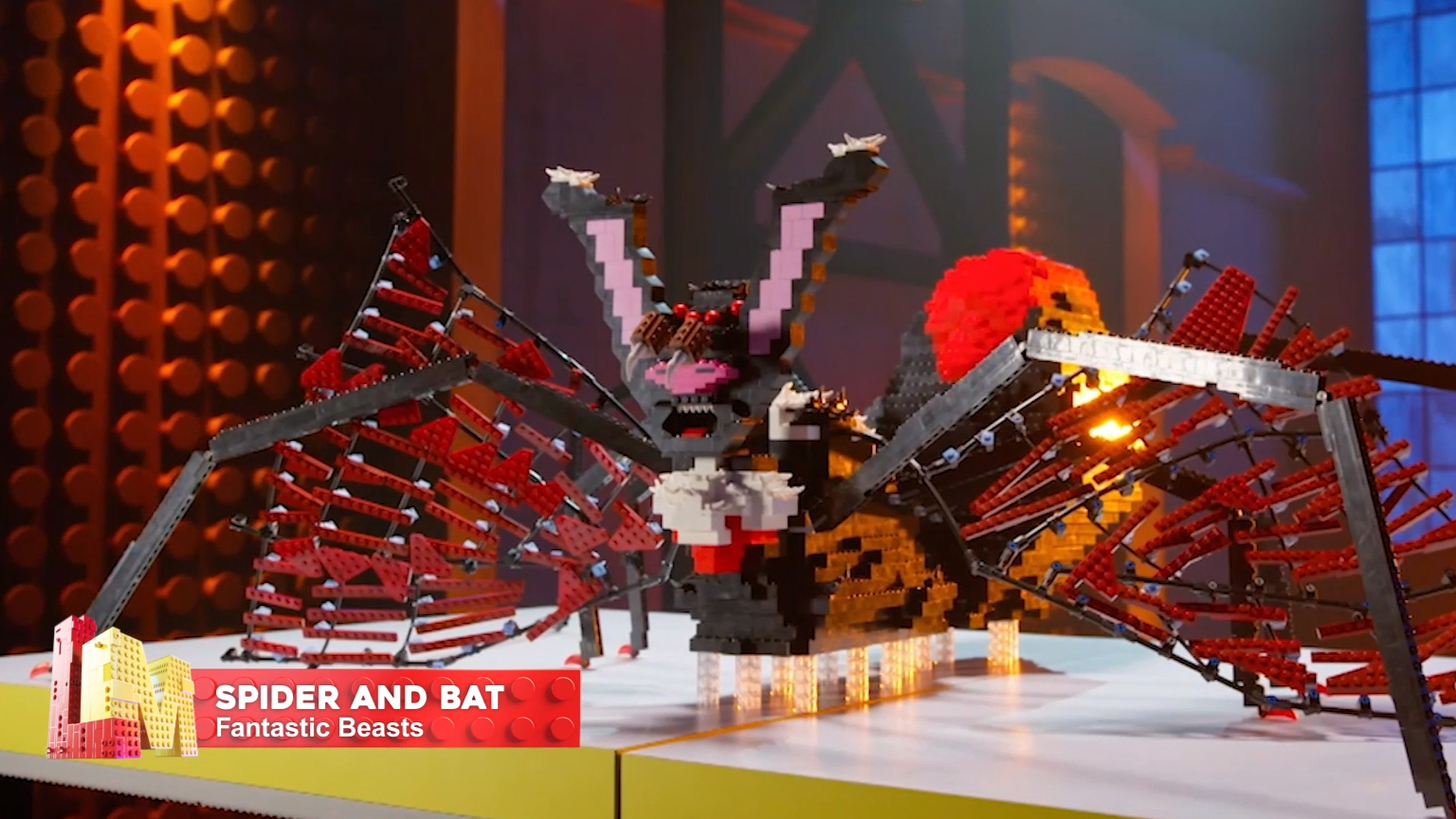 All of Michael and Harrison's builds on LEGO Masters
