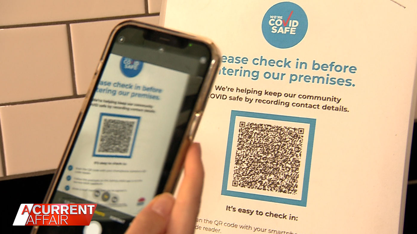 Health experts QR code warning as new COVID-19 cases emerge
